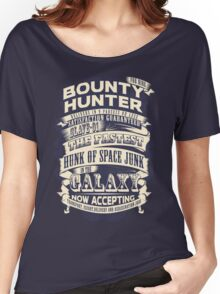 Space Bounty Hunter For Hire Women's Relaxed Fit T-Shirt