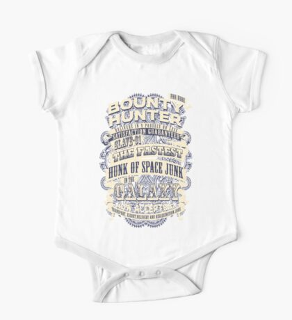 Space Bounty Hunter For Hire One Piece - Short Sleeve