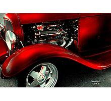 Red Carpet Photographic Print