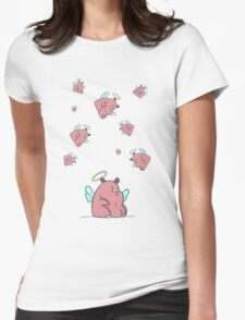 Many Hippos Womens Fitted T-Shirt