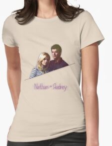 Nathan + Audrey Womens Fitted T-Shirt