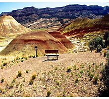 Painted Hills, Central Oregon, USA Photographic Print