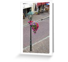 Wijk in flowers Greeting Card