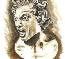 Damned Soul - 1619, Gian Lorenzo Bernini  by Greta Art
