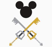 King Mickey minimal Baby Tee