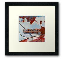 """For the Love of Rust"" Framed Print"