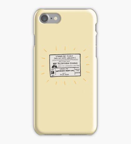 SNL Ticket iPhone Case/Skin