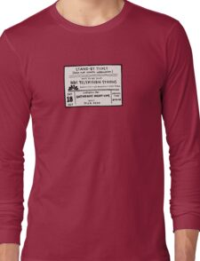 SNL Ticket Long Sleeve T-Shirt
