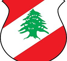 Coat of Arms of Lebanon  by abbeyz71