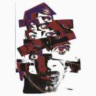 "Collage Face #7 ""Dark Rainbow Craig"" by 4nando"