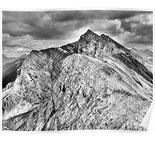 Mount Lawrence Grassi from Ha Ling Peak Poster