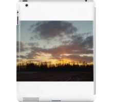Fire in the trees iPad Case/Skin