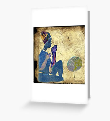 a whisper for mother nature Greeting Card