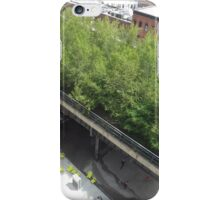 Aerial View of High Line from Whitney Museum, New York City iPhone Case/Skin