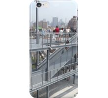 Outdoor Deck of Whitney Museum, Renzo Piano, Architect, New York City iPhone Case/Skin