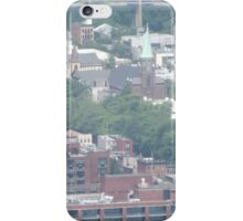 Aerial View of Harsimus Branch Embankment, Jersey City, New Jersey  iPhone Case/Skin