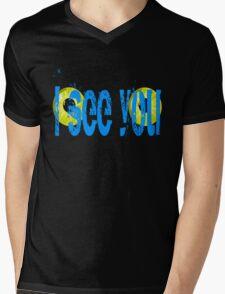 Avatar I See You Mens V-Neck T-Shirt