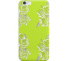 Green Roses  iPhone Case/Skin