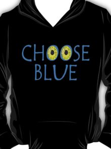 Avatar Choose Blue Smile T-Shirt