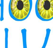 Avatar Choose Blue Smile Sticker