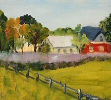Lavender Field by Inna Lazarev