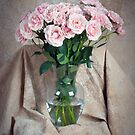 Roses and Vase by Leroy Laverman