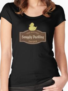 The Snuggly Duckling Women's Fitted Scoop T-Shirt