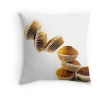 Coconut Cakes Falling Throw Pillow