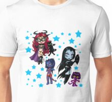 Tarot & Friends Chibi design Unisex T-Shirt