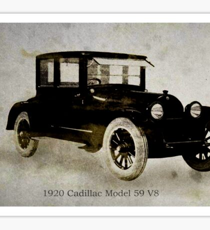 1920 Cadillac Sticker