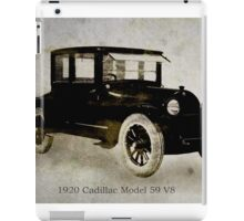 1920 Cadillac iPad Case/Skin