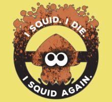 I Squid. I Die. I Squid Again. Baby Tee