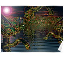 Night of the iridescent faucets  Poster