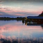 Sunset on the Lake by G. David Chafin