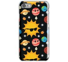 Planet Space Party iPhone Case/Skin