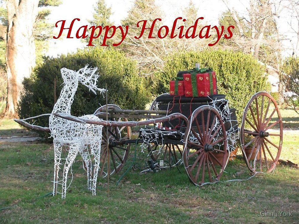 Happy Holidays To All by Ginny York