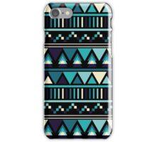 Arctic Blue Geometric iPhone Case/Skin
