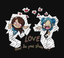 LOVE: How Do You Show It? Shirt by DarthSpanky