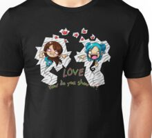 LOVE: How Do You Show It? Shirt Unisex T-Shirt