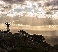 On Top of Mount Amos by Kristin Repsher