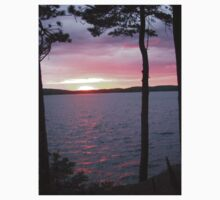 Lake Sunset,-Available As Art Prints-Mugs,Cases,Duvets,T Shirts,Stickers,etc Kids Clothes