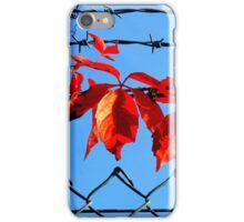 Vine wire iPhone Case/Skin