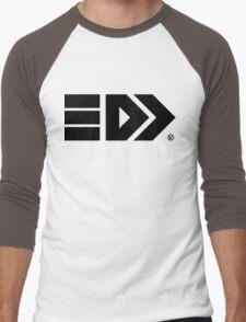 Splatoon Takoroka Logo Black Men's Baseball ¾ T-Shirt
