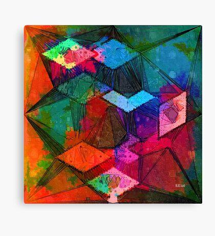 Isometric Tangles Canvas Print
