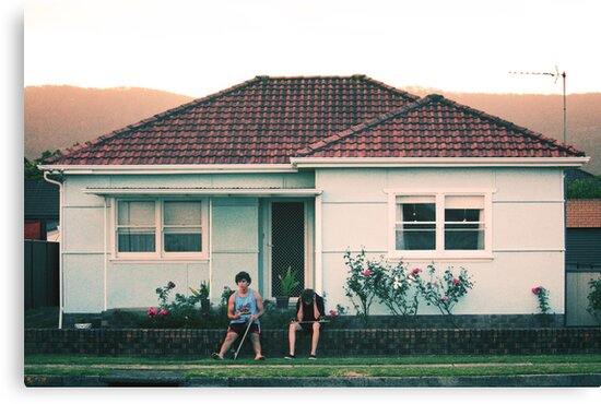 scenes from suburbia by Jack Toohey