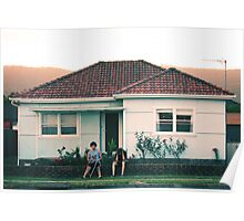 scenes from suburbia Poster