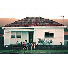 scenes from suburbia Photographic Print