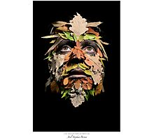The Green Man of Winter (c)2015 Photographic Print
