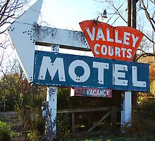 Old Motel Sign by CG1977