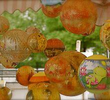 Market Stall Globes - Berlin, Germany by Nicola Clarke